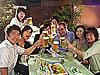 ビール片手に東北の支援も 天神地区のビアガーデンが続々とオープン